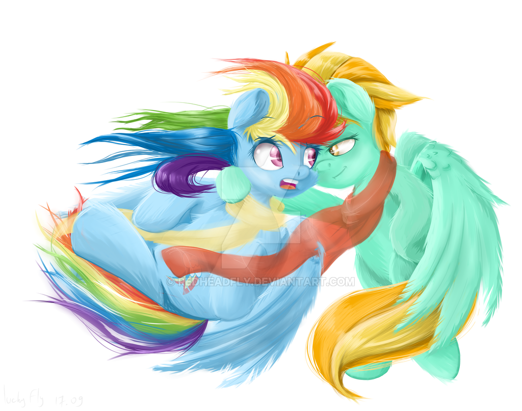 rainbow dash vs lighting - photo #29