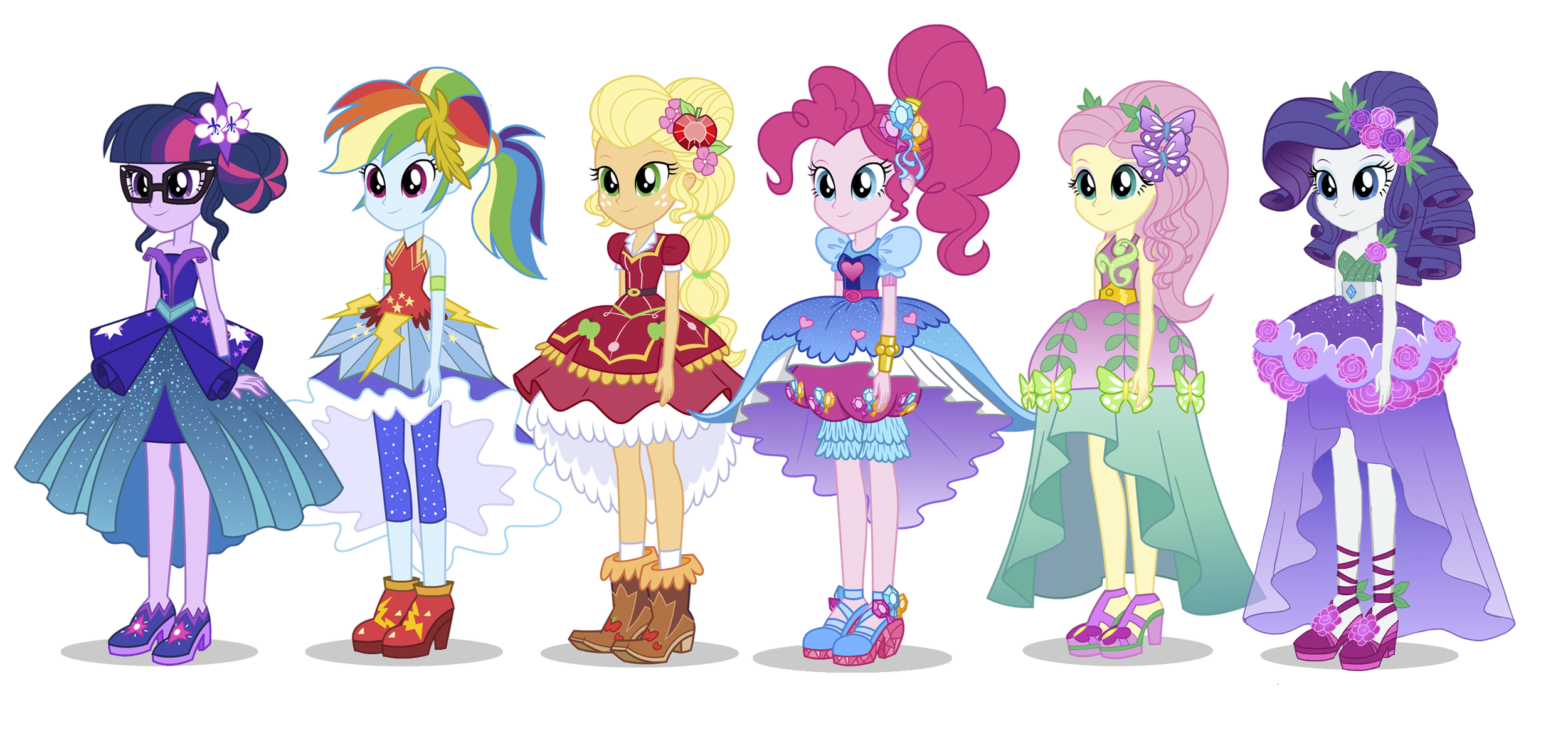 My little pony friendship is magic equestria girls fluttershy transformation