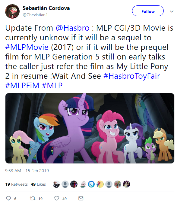2nd MLP Movie and its meaning for the G5 Leaks by CMC